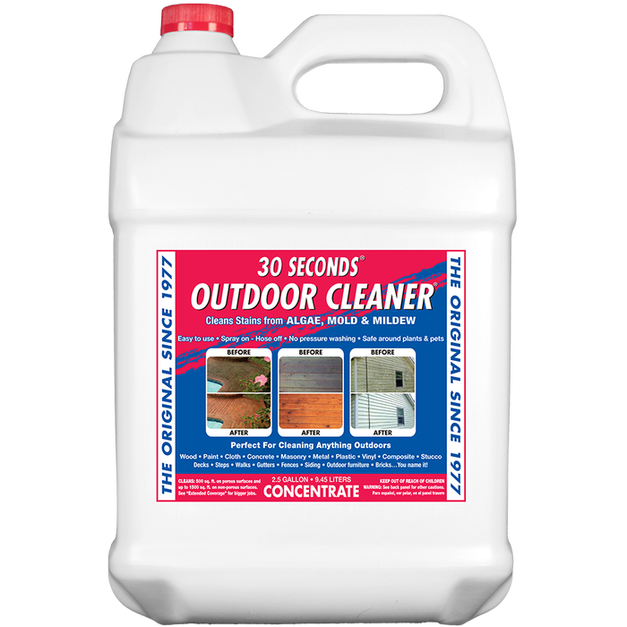 30 SECONDS OUTDOOR CLEANER 2.5 GAL - CONCENTRATE