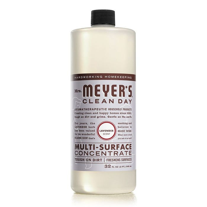 Mrs. Meyer's Clean Day Multi-Surface Cleaner, Concentrate, Lavender, 32 oz.
