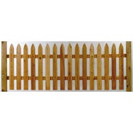 """""""Gothic"""", Cedar Picket Fence, Section, 3 ft. x 8 ft."""