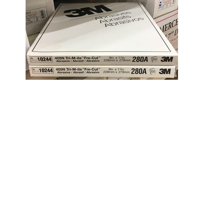 3M™ Silicone Carbin Paperpaper Sheets 405N, 9
