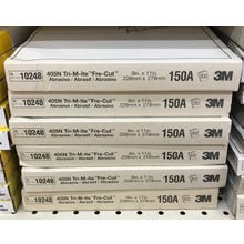 """3M™ Silicone Carbin Paperpaper Sheets 405N, 9"""" x 11"""" 280 Grit 50 Pack"""