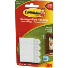 Image 2 of Command 17202 Picture Hanging Strips, 1 lb Weight Capacity, Paper