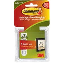 Image 2 of Command 17205 Picture Hanging Strip, 1 lb/set Weight Capacity, Foam