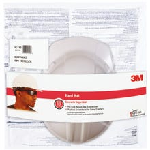 Image 2 of 3M CHH-P-W12 Hard Hat, 4-Point Suspension, Polyethylene Shell, White