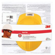 Image 2 of 3M CHH-P-Y12 Hard Hat, 4-Point Suspension, Polyethylene Shell, Yellow
