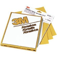 3M™ Gold Abrasive Sheet, 02548, P100 grade, 9 in x 11 in, 50 pack