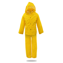 Boss LINED PVC RAIN SUIT .35MM, 3-PIECE, YELLOW