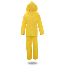 Boss UNLINED PVC RAIN SUIT .20MM, 3-PIECE, YELLOW