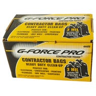 G-FORCE Contractor Tough Heavy Duty Clean-Up Bags 3mil 20ct