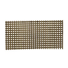 Woodway Pressure Treated Square Lattice Panel, Heavy, No. 1 Grade, 4 ft. x 8 ft.