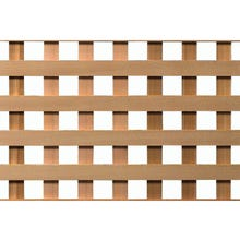 Woodway Cedar Square Lattice Panel, Clear Grade, 4' x 8'