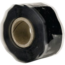 Image 2 of HARBOR PRODUCTS RT1000201201USC01 Self-Fusing Pipe Repair Tape, 12 ft L, 1 in W, 13/64 in Thick, Black