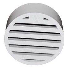 Image 1 of 4 in. White PVC Drain Grate