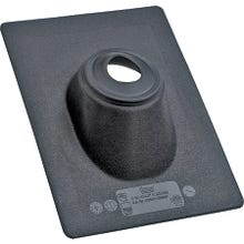 Image 2 of Hercules No-Calk 11891 Roof Flashing, 4 in, Thermoplastic, Black, 12 x 16 in