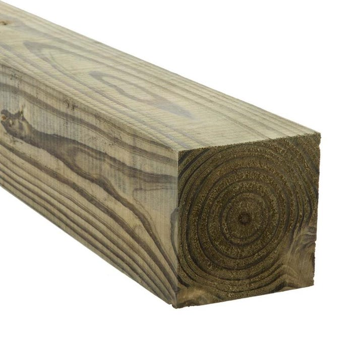 Pressure Treated Post Southern Yellow Pine
