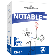 Benjamin Moore Notable Dry Erase Paint - Clear