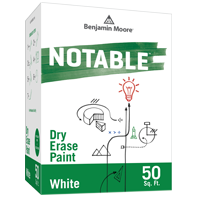 Benjamin Moore Notable Dry Erase Paint - White