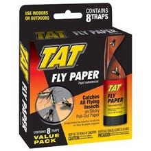 TAT Fly Paper Ribbon, 8 Pk.