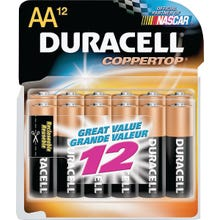 Image 2 of Duracell COPPERTOP MN1500 Series MN15RT12Z Alkaline Battery, AA, Manganese Dioxide, 1.5 V