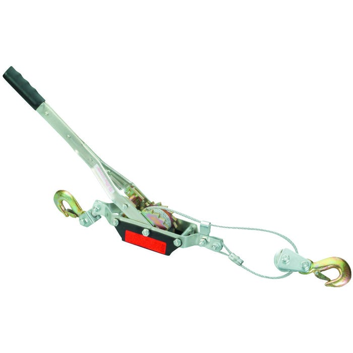Image 2 of Prosource JLO-0283L Cable Puller, 2 ton Lifting, Double Gear Ratchet