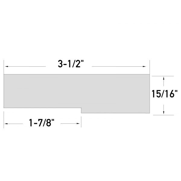 KLEER PVC Trim Boards with 1/4