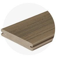 Image 3 of Fiberon Paramount PVC Decking - 12 ft., Sandstone, Grooved Edge
