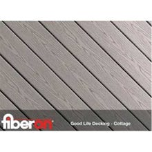 Image 2 of ⁵⁄₄ x 6 x 16 ft. Fiberon Good Life Deck Boards, Grooved Edge, Cottage