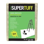 Trimaco SUPERTUFF 6 oz. Canvas Drop Cloth, 9 ft. x 12 ft.