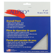 """Wall Patch 6""""X6"""""""