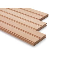 Image 1 of C & Btr. Fir Edge & Center T&G Beadboard/Wainscoting 5/8 in. x 4 in.