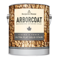 Benjamin Moore ARBORCOAT Exterior Ultra Flat Waterborne Solid Siding & Fence Stain