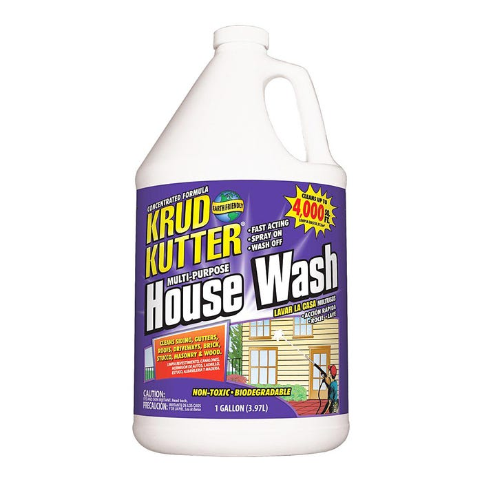 1 GAL KRUD KUTTER PREMIUM HOUSE WASH CONCENTRATE