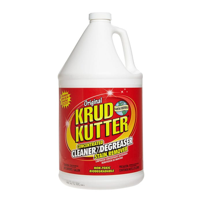 KRUD KUTTER Original, Concentrated Cleaner/Degreaser Stain Remover, Gallon