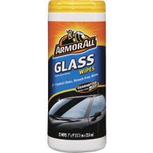 Image 2 of Armor All 10865-4 Glass Wipes, Clear, 25 Carton