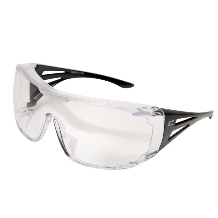 Edge Eyewear XL Over-The-Glasses Safety Glasses