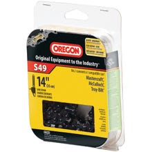 Image 2 of Oregon S49 Chainsaw Chain, 5/32 in File, 14 in L Bar, Stainless Steel
