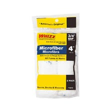 """Whizz 4"""" x 3/8"""" Nap MicroFiber Roller Cover, 2 Pack"""