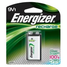 Image 2 of Energizer NH22NBP Rechargeable Battery, 9 V Battery, Nickel-Metal Hydride, 1.2 V Battery