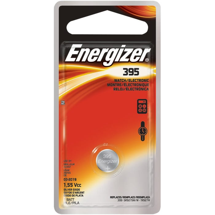 Image 2 of Energizer 395BPZ Coin Cell Battery, 395 Battery, Silver Oxide, 1.5 V Battery