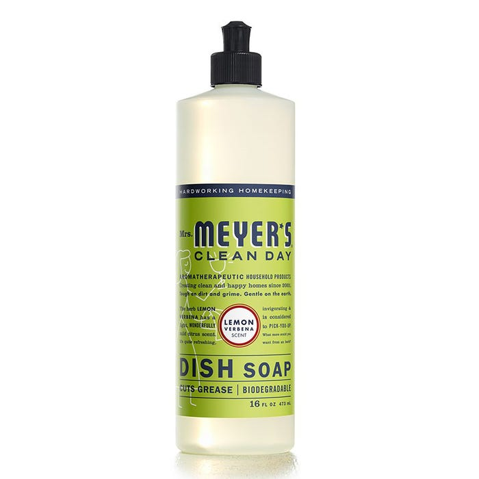 Mrs. Meyers 16 oz Liquid Dish Soap - Lemon Verbena