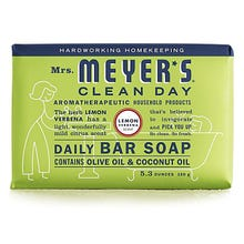 Mrs. Meyers 5.3 oz Bar Soap - Lemon Verbena