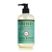 Mrs. Meyers 12.5 oz Liquid Hand Soap - Basil
