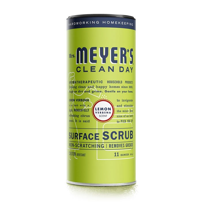 Mrs. Meyer's 11 oz Surface Scrub - Lemon Verbena