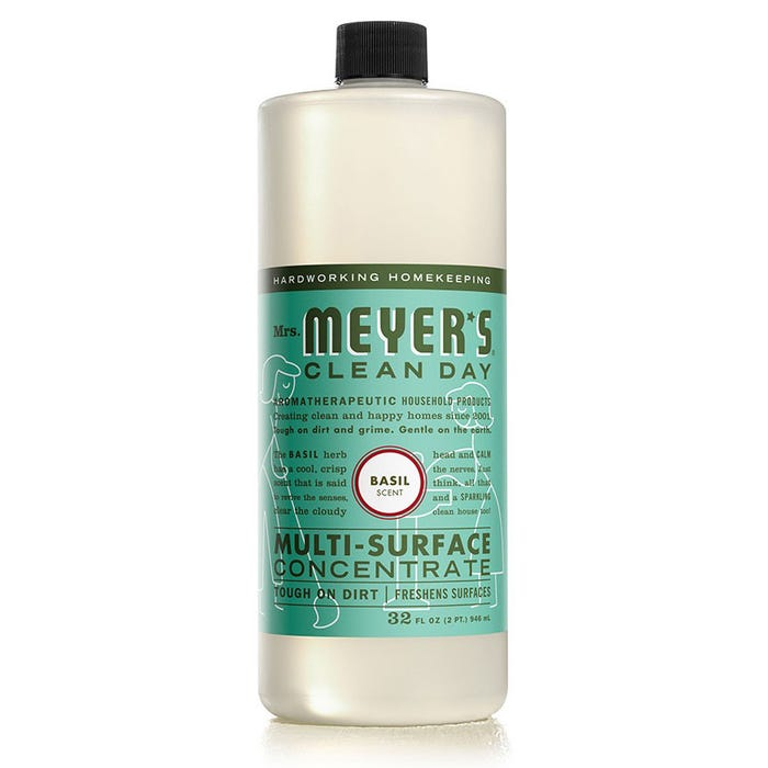 Mrs. Meyers 32 oz Multi Surface Concentrated Cleaner - Basil