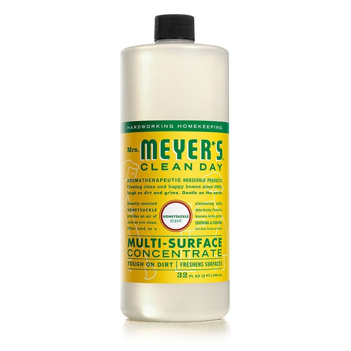 Mrs. Meyers 32 oz Multi Surface Concentrated Cleaner - Honeysuckle