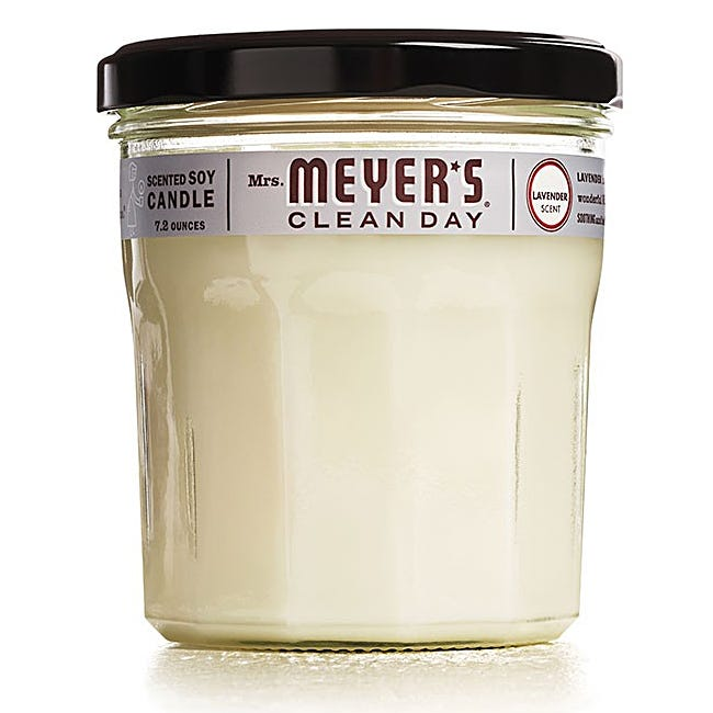 Mrs. Meyers 7.2 oz Soy Candle - Lavender
