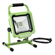 PowerSmith PWL1136BS 3750 Lumen LED Portable Work Light with Metal Stand and Lamp Housing, 3,750 Lumens