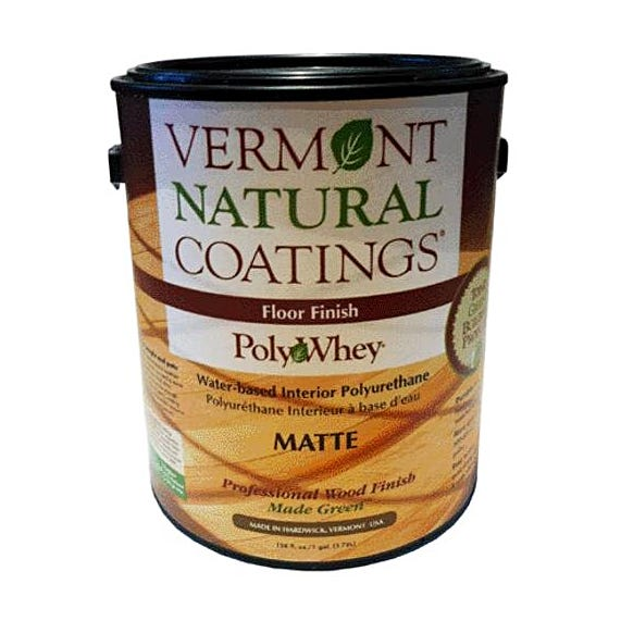 Vermont Natural Coatings PolyWhey Floor Finish, Matte, Gallon