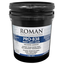 5GAL PRO 838 HEAVY DUTY CLEAR WALLCOVERING ADHESIVE