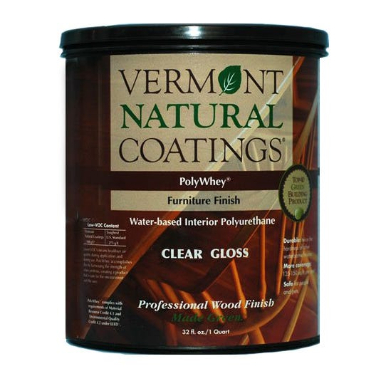 Vermont Natural Coatings POLYWHEY FURNITURE FINISH GLOSS QT